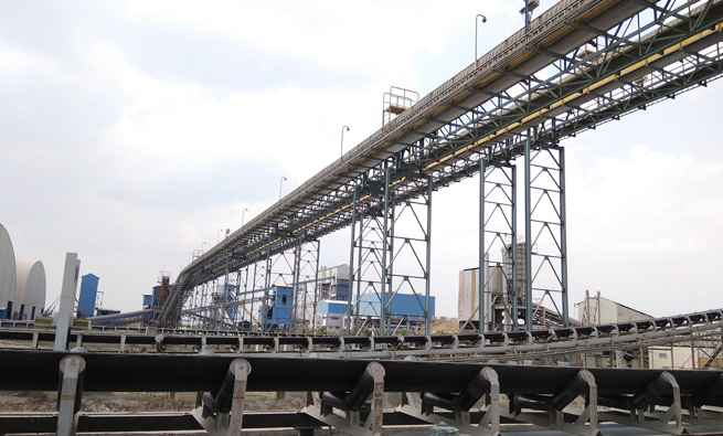 Turnkey Execution of Coal, Iron Ore, Laterite & Limestone Handling Systems of 4.5 Kms. for M/s. Bharathi Cement Corporation Pvt. Ltd., (M/s. Vicat France) Tonnage: 4000 MT.