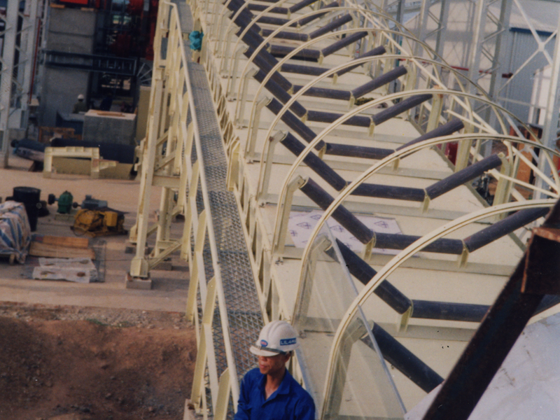 Belt Conveyors, Bagasse Dryer, Coal Handling Systems